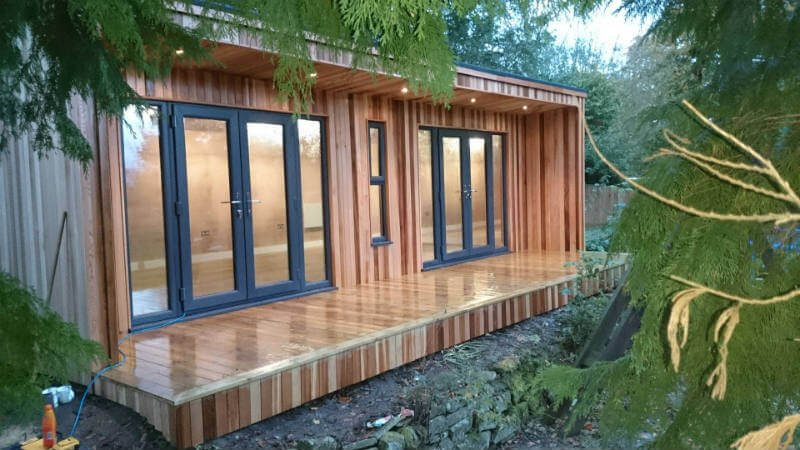 garden lodges into home offices