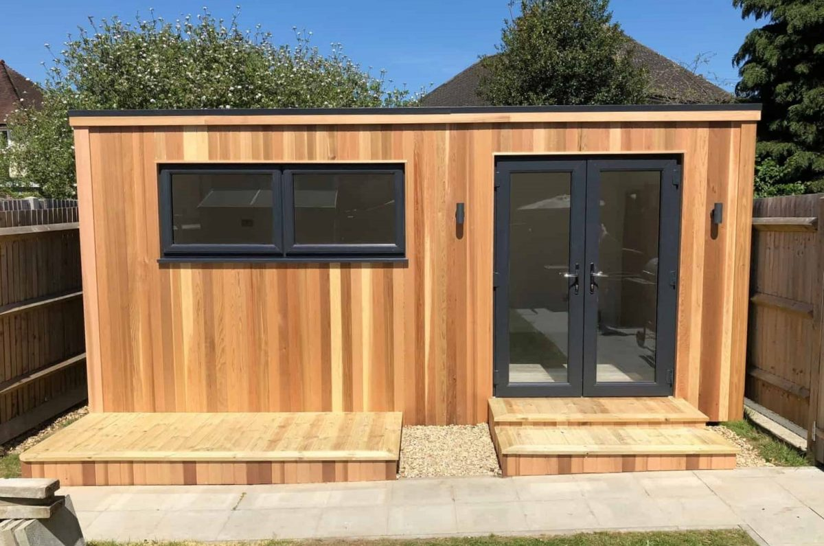 cube room garden office shed