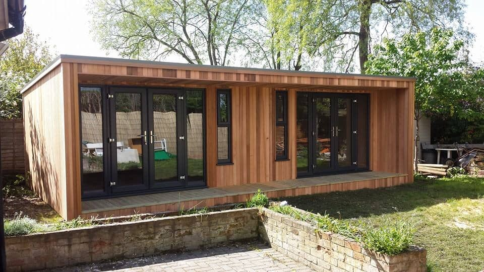 wooden garden rooms
